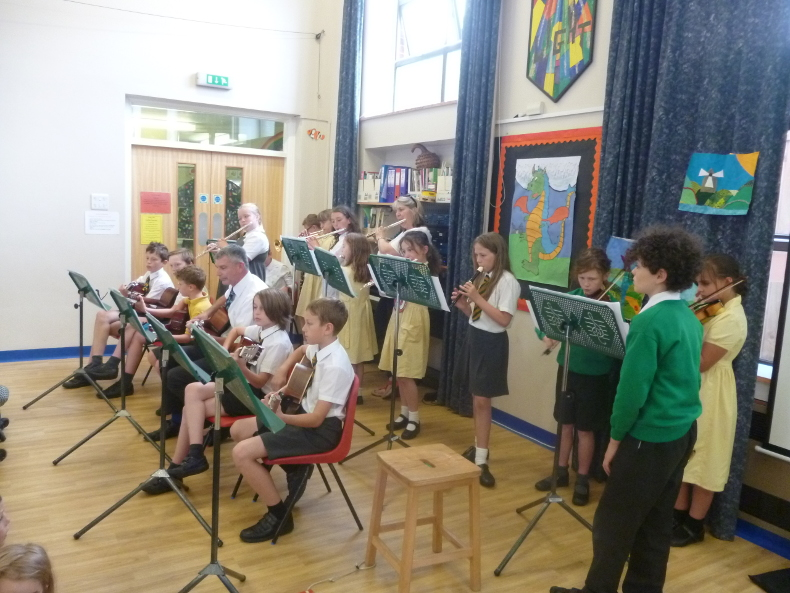 Music at St Lawrence School
