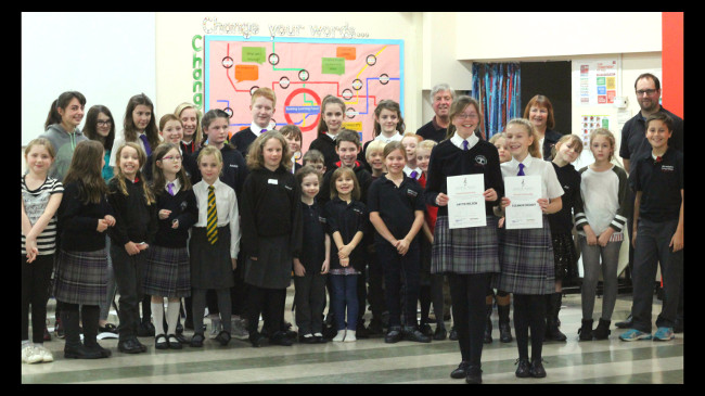Annual Awards to the Warwickshire Young Voices